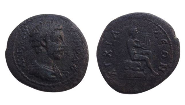 Roman, Byzantine, and Ottoman coins have been discovered during the excavations of Aquae Calidae - Thermopolis. Photo by Burgas Municipality