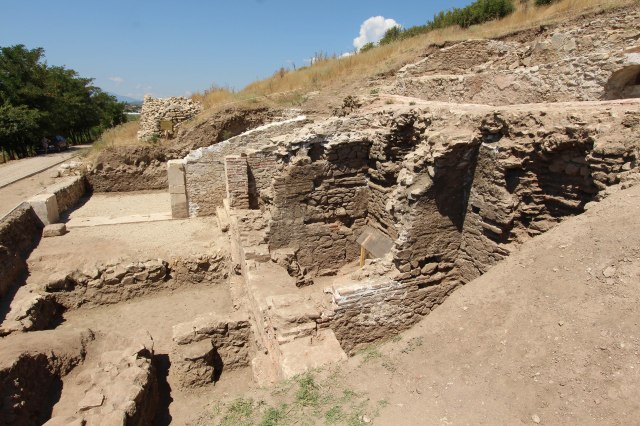 The Ancient Thracian, Greek, and Roman city of Heraclea Sintica near Bulgaria's Petrich. Photo by Petrich Museum of History