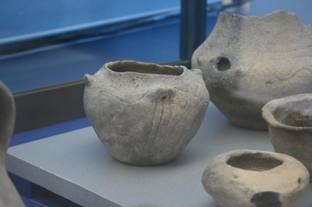 """Artifacts found through underwater archaeology explorations are displayed in Bulgaria's only Museum of Underwater Archaeology in the southern Black Sea town of Kiten. Photos by Todor Hristov from the Facebook group """"Bulgarians"""" dedicated to promotion of Bulgaria's historical and archaeological heritage. He may be contacted at paragraf22@gmail.com."""