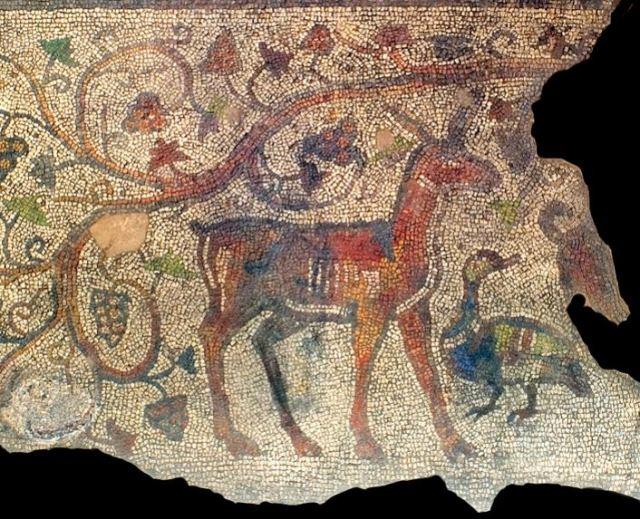 Late Antiquity mosaics from a 4th century Roman private residence in Augusta Trajana, today's Stara Zagora. Photo by Stara Zagora Regional Museum of History