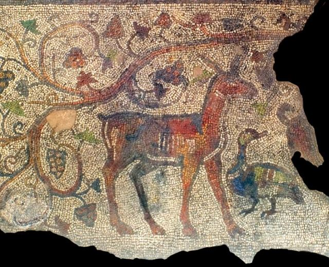 Late Antiquity mosaics from a 4th century Roman private residence in Augusta Trajana, today's Stara Zagora. Photo by Stara Zagora Regional Museum of History
