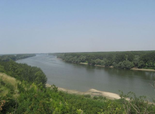 A view of the Danube from the location of the Scaidava Fortress near Batin. Photo by Borovo Municipality