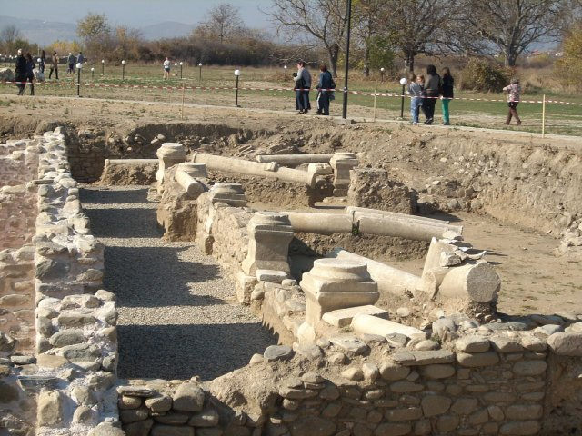 Part of the ruins of Ancient Roman city Nicopolis Ad Nestum after its restoration in 2013-2014. Photo by Garmen Municipality