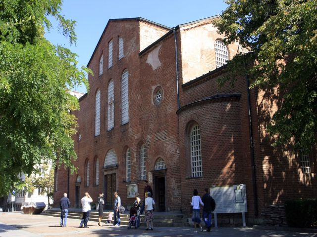 The 4th century basilica St. Sofia is said to be Europe's oldest functioning church. Photo by Sofia Municipality