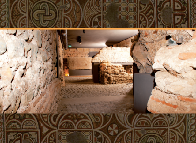 The underground museum of the Ancient Roman necropolis underneath the St. Sofia Basilica in the downtown of the Bulgarian capital. Photo by Info Center Sofia