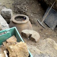 Bulgarian Archaeologists Uncover Ancient Hand Mill, Odessos Fortress Wall in Varna