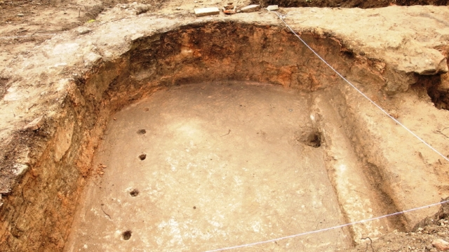 "An indoor swimming pool has been unearthed at the ""luxury"" Roman road station near the Sostra Fortress close to Bulgaria's Troyan. Photo: National Museum of History"