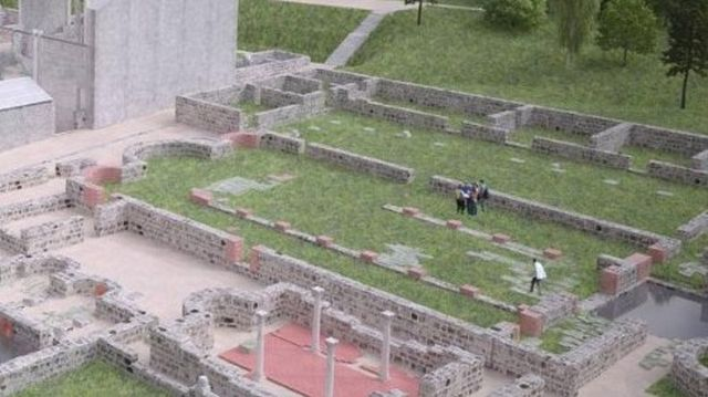 The partially restored ruins of the Roman city and military camp of Novae were unveiled in 2014. The restoration was funded mostly with EU money. Photo: Svishtov Municipality