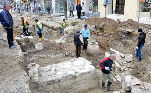The rescue excavations in the downtown of Bulgaria's Varna have been wrapped up for the summer season, and will continue in the fall of 2015. Photo: Varna Utre