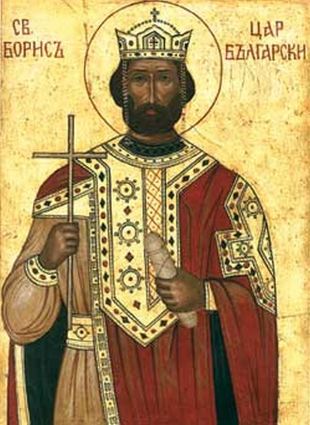 An icon of St. Knyaz Boris I Mihail who adopted Christianity as the official and only religion of Bulgaria in 864-865 AD. Photo: Albedo-ukr, Wikipedia