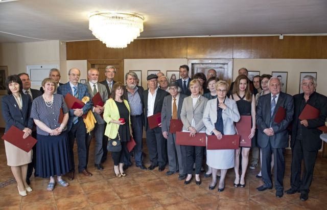 A total of 55 Bulgarian intellectuals, including several archaeologists and directors of history and archaeology museums, have been awarded Golden Age 2015 awards by Bulgaria's Ministry of Culture. Photo: Ministry of Culture