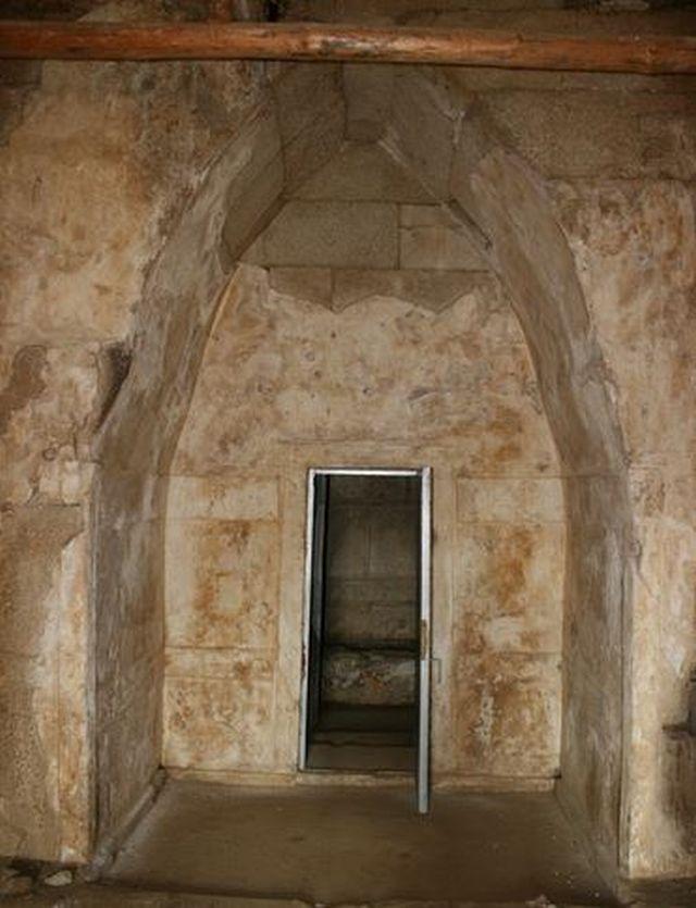 The entrance of the Helvetia Tomb, a 5th century AD Ancient Thracian burial mound (tumulus) near Bulgaria's Shipka, Kazanlak Municipality. Photo: Kazanlak Municipality
