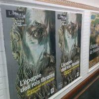Louvre Museum Extends Advertising Campaign in Paris Metro for Bulgaria's Ancient Thracian Exhibit